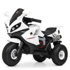 Детский мотоцикл Bambi M 4216 AL-1 BMW, белый