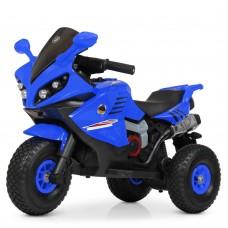 Детский мотоцикл Bambi M 4216 AL-4 BMW, синий