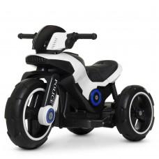 Детский мотоцикл Bambi M 4228 EBL-1 Police, белый
