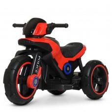 Детский мотоцикл Bambi M 4228 EBL-3 Police, красный