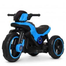 Детский мотоцикл Bambi M 4228 EBL-4 Police, синий