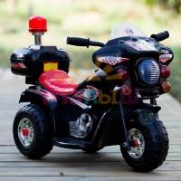Детский мотоцикл Bambi M 4251-2 Police, черный