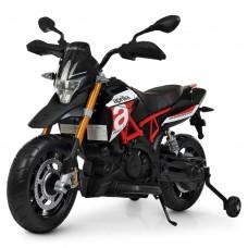 Детский мотоцикл Bambi M 4252 EL-3 Aprilia Dorsoduro 900, красный