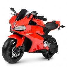 Детский мотоцикл Bambi M 4262 EL-3 Ducati, красный