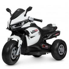 Детский мотоцикл Bambi M 4265 EL-1 BMW, белый