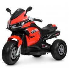 Детский мотоцикл Bambi M 4265 EL-3 BMW, красный