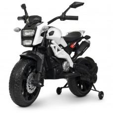 Детский мотоцикл Bambi M 4267 EL-1 Harley Davidson, белый