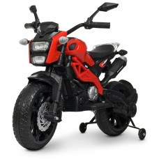 Детский мотоцикл Bambi M 4267 EL-3 Harley Davidson, красный