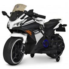 Детский мотоцикл Bambi M 4268 L-1 Kawasaki Ninja, белый