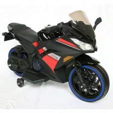 Детский мотоцикл Bambi M 4268 L-2 Kawasaki Ninja, черный