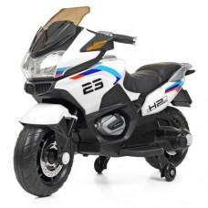 Детский мотоцикл Bambi M 4272 EL-1 BMW, белый