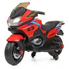 Детский мотоцикл Bambi M 4272 EL-3 BMW, красный