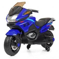 Детский мотоцикл Bambi M 4272 EL-4 BMW, синий