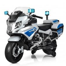 Детский мотоцикл Bambi Z212-11 Police, серый