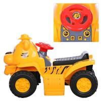 Детская каталка толокар-квадроцикл Bambi 606CB Тигр, желтый
