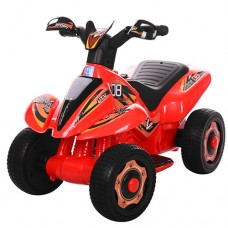 Детский толокар-мотоцикл Bambi M 3560 E-3, красный