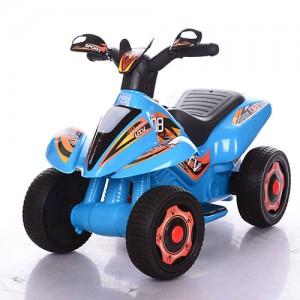 Детский толокар-мотоцикл Bambi M 3560 E-4, синий