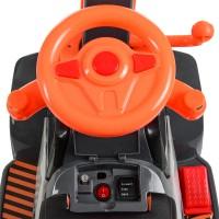 Детский электромобиль Трактор Bambi M 4141 L-7, оранжевый