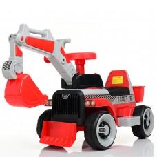 Детский электромобиль Трактор Bambi M 4144 L-3, красный