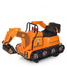 Детский электромобиль Трактор Bambi M 4145 L-7, оранжевый