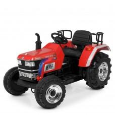 Детский электромобиль Трактор M 4187 LR-3, красный