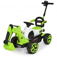 Детский электромобиль Трактор Bambi M 4192-5, зеленый