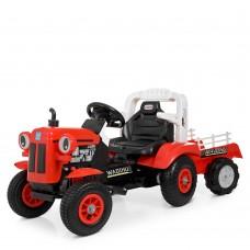 Детский электромобиль Трактор Bambi M 4261 ABLR-3, красный