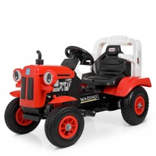 Детский электромобиль Трактор Bambi M 4261 ABLR(2)-3, красный