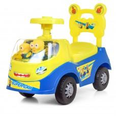 Детская каталка-толокар Bambi 238-DM, сине-желтый