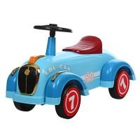 Детская каталка-толокар Bambi 8209-4 ретро-машина, голубой