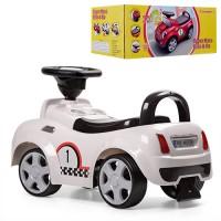 Детская машинка каталка толокар Bambi HZ 536-1, белый