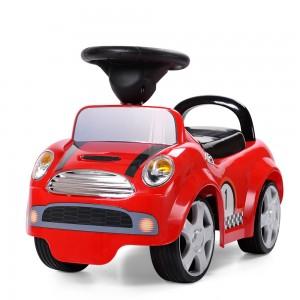 Детская машинка каталка толокар Bambi HZ 536-3, красный