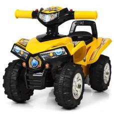 Детская каталка-толокар квадроцикл Bambi HZ 551-6, желтый