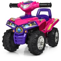 Детская каталка-толокар квадроцикл Bambi HZ 551-9, малиново-фиолетовый