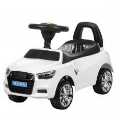 Детская машинка каталка толокар Bambi M 3147A-1 Audi, белый