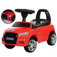 Детская машинка каталка толокар Bambi M 3147A-3 Audi, красный
