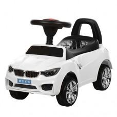 Детская машинка каталка толокар Bambi M 3147B-1 BMW, белый