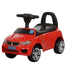 Детская машинка каталка толокар Bambi M 3147B-3 BMW, красный