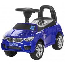 Детская машинка каталка толокар Bambi M 3147B-4 BMW, синий
