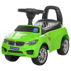 Детская машинка каталка толокар Bambi M 3147B-5 BMW, зеленый