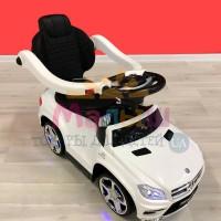 Детская машинка каталка толокар Bambi M 3186 L-1 Mercedes, белый