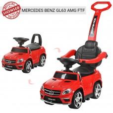 Детская машинка каталка толокар Bambi M 3186 L-3 Mercedes, красный