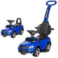Детская машинка каталка толокар Bambi M 3186 L-4 Mercedes, синий