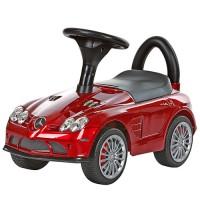 Детская машинка каталка толокар Bambi M 3189S-3 Mercedes, красный