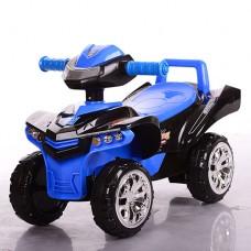 Детская каталка-толокар Bambi M 3502-2-4, черно-синий