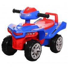 Детская каталка-толокар Bambi M 3502-4-3, красно-синий
