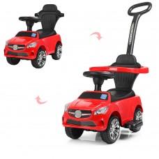 Детская машинка каталка толокар Bambi M 3503C(MP3)-3, красный