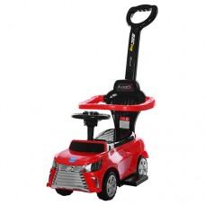 Детская машинка каталка толокар Bambi M 3593-3 Lexus, красный