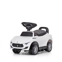 Детская машинка каталка толокар Bambi M 3594 L-1 Maserati, белый