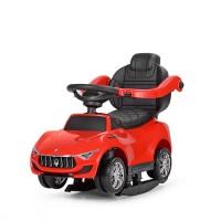 Детская машинка каталка толокар Bambi M 3594 EL-3 Maserati, красный